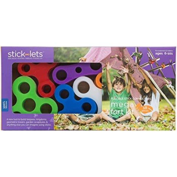 Sticklets Sticklets: 18-Piece Mega Fort Set