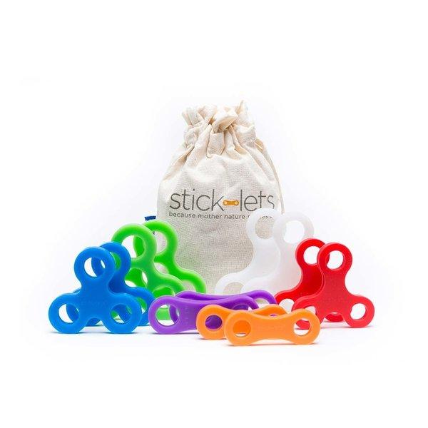 Sticklets Sticklets: 12-Piece Dodeka Fort Set