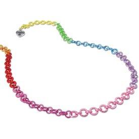 Charm It! Charm It: Rainbow Chain Necklace
