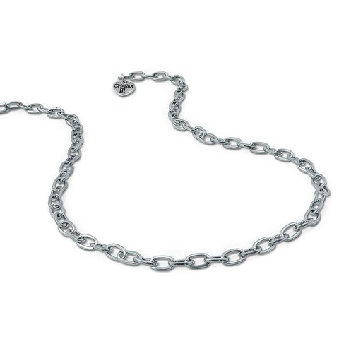 Charm It: Silver Chain Necklace