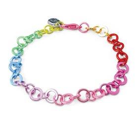 Charm It! Charm It: Rainbow Chain Bracelet