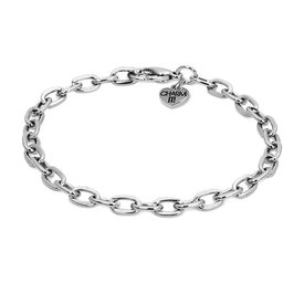 Charm It! Charm It: Silver Chain Bracelet
