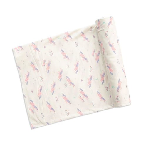 Angel Dear: Cosmic Unicorn Bamboo Swaddle Blanket