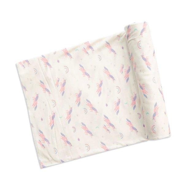 Angel Dear Angel Dear: Cosmic Unicorn Bamboo Swaddle Blanket