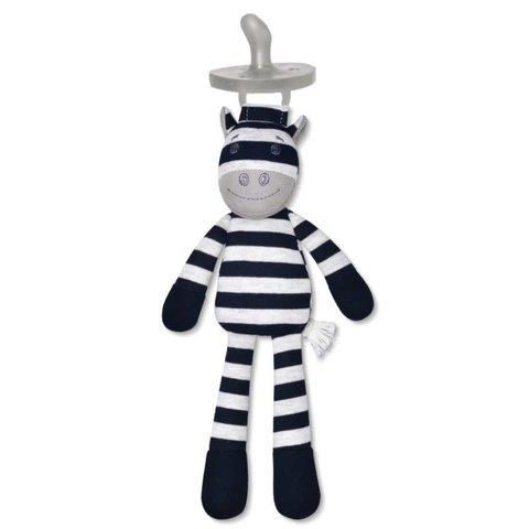 Apple Park: Ziggy Zebra Pacifier Buddy