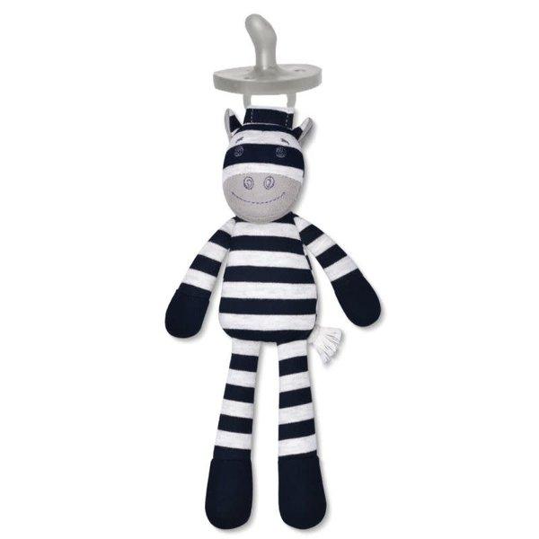 Apple Park Apple Park: Ziggy Zebra Pacifier Buddy
