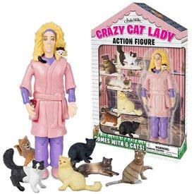 Archie McPhee Archie McPhee: Crazy Cat Lady Action Figure