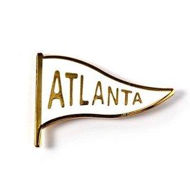 Badge Bomb Badge Bomb: Atlanta pennant
