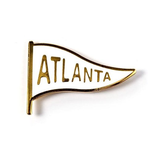 Badge Bomb: Atlanta pennant