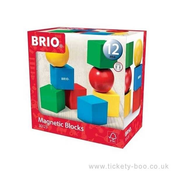 Brio Brio: Magnetic Building Blocks