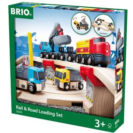 Brio Brio: Rail & Road Loading Set