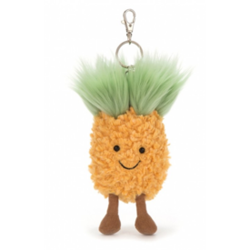 JellyCat JellyCat: Amuseables Pineapple Bag Charm