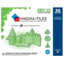 Magna-Tiles Magnatiles: 35 Piece Glow in the Dark