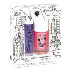 Nailmatic Nailmatic: LOVELY CITY-Rollette polish duo set