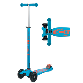Micro Micro: Maxi Deluxe Scooter - Caribbean Blue