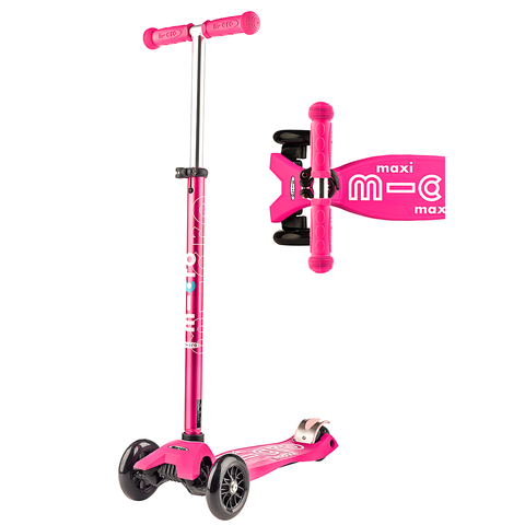 Micro: Maxi Deluxe Pink Scooter