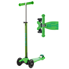 Micro Micro: Maxi Deluxe Green Scooter