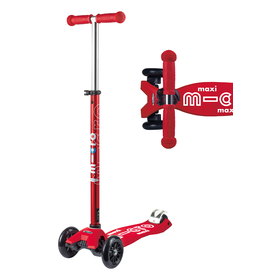 Micro Micro: Maxi Deluxe Red Scooter
