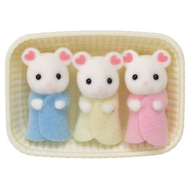 Epoch Calico Critters: Marshmellow Mouse Triplets