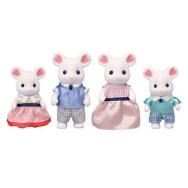 Epoch Calico Critters: Marshmallow Mouse Family