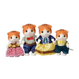 Epoch Calico Critters:  Maple Cat Family