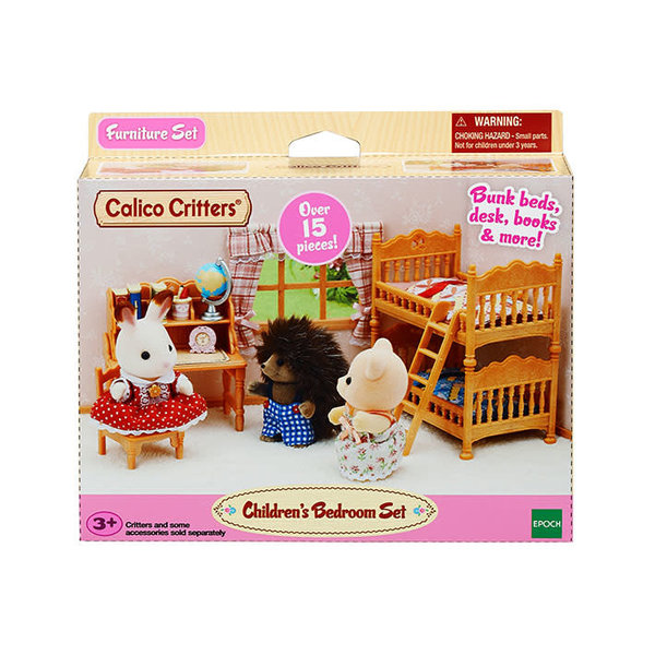 Epoch Calico Critters: Children's Bedroom Set