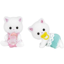 Epoch Calico Critters: Persian Cat Twins