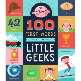 Famillius Familius: 100 First Words for Little Geeks