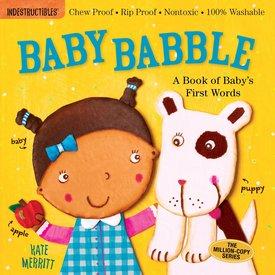 Workman Pub Workman: Indestructibles Baby Babble Book