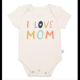 Finn + Emma Finn & Emma: Graphic Bodysuit (I Love Mom)