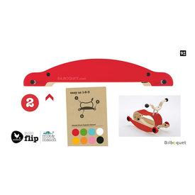 Wishbone Wishbone: Mini Flip M&M Base Red