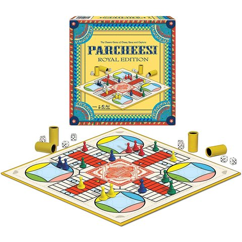 Winning Moves Games: Parcheesi Royal Edition