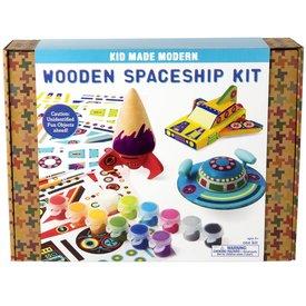 Kid Made Modern Kid Made Modern: Wooden Spaceship Kit