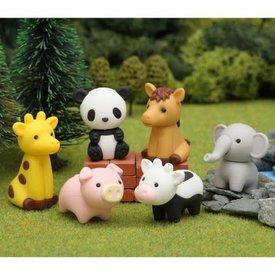 BC Mini BC Mini: Iwako Zoo Animal Eraser