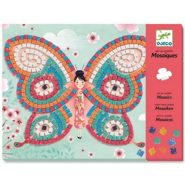 Djeco DJECO: Mosaics Butterflies