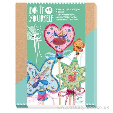 Djeco: DIY Little Fairies Wands