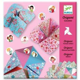 Djeco Djeco:  Origami Fortune Tellers- Flowers