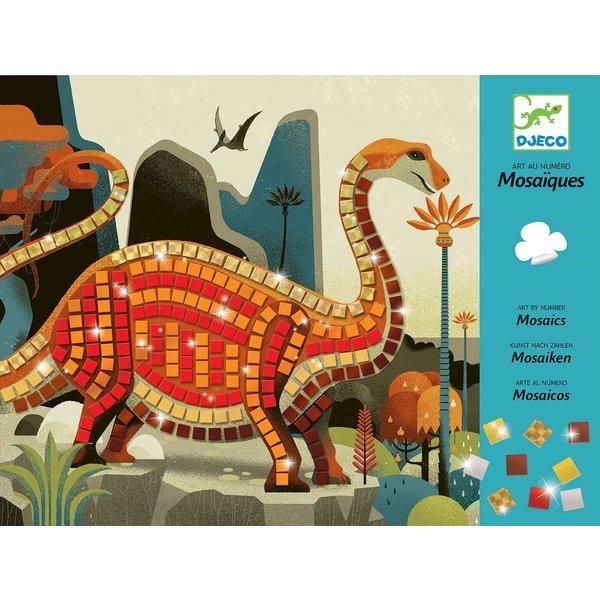 Djeco Djeco: Mosaics Dinosaurs