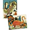 Djeco: Mosaics Dinosaurs
