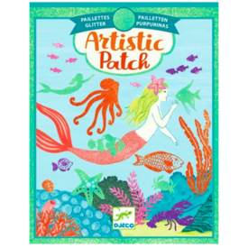 Djeco Djeco: Artistic Patch Mermaid Glitter