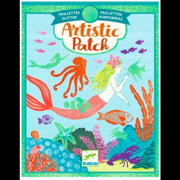 Djeco Djeco: Artistic Patch Mermaid Glitter
