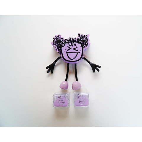 GloPals: Lumi Figure with 2 Light Up Cubes