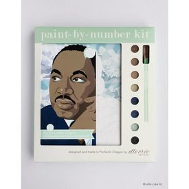 Elle Crée Elle Crée: Paint-by-Number kit - Martin Luther King Jr.