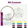 "PopLush: Salty Sailor 8"" Emroidery Kit"