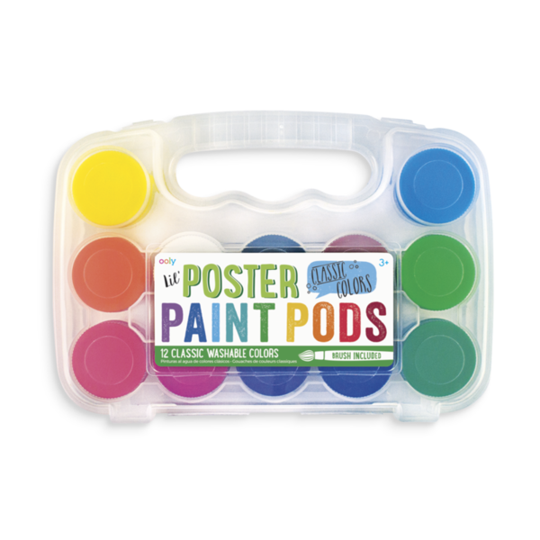 Ooly Ooly: Lil Paint Pods Poster Paint - Set of 12