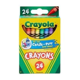 Master Toys: 24ct Crayola Crayon Set