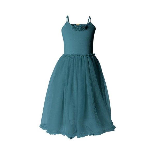 Maileg Maileg: Ballerina Dress Petrol 2-3