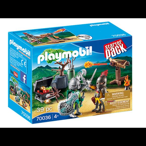 Playmobil Playmobil: Starter Pack Knight's Treasure Battle