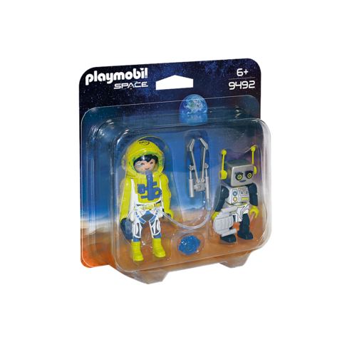 Playmobil: Mars Mission Astronaut and Robot Duo Pack
