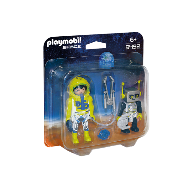 Playmobil Playmobil: Mars Mission Astronaut and Robot Duo Pack
